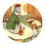 Alice in Wonderland009_SQ.png Round Car Magnet
