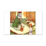 Alice in Wonderland009_SQ.png Rectangle Car Magnet