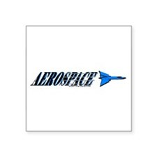 Aerospace Rectangle Sticker