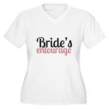 Brides Entourage Plus Size T-Shirt