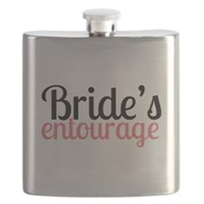 Brides Entourage Flask