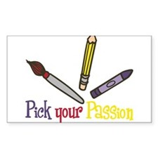 Pick Your Passion Decal