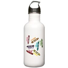 Colors Water Bottle