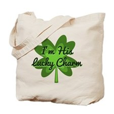 Im His Lucky Charm Tote Bag
