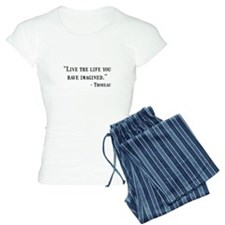 Thoreau Quote Pajamas