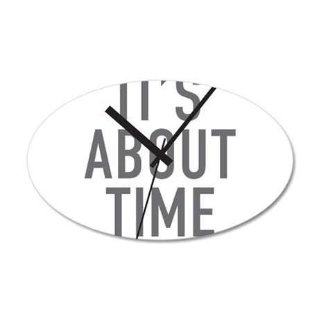 Its About Time Wall Decal
