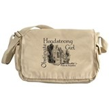 Cute Jane austen Messenger Bag