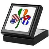 Shamrock of Cuba Keepsake Box