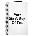 Purr Me A Cup of Tea Journal