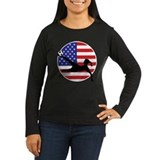 soccerWomanX3 Long Sleeve T-Shirt