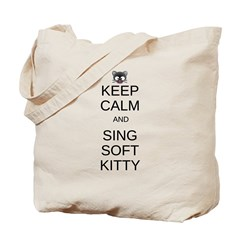 Keep Calm Soft Kitty Tote Bag