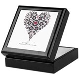 Love Iris Keepsake Box