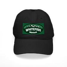 Whitefish Logo Forest Baseball Hat