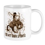 Bronco Rodeo Cowboy, Stunts Mug