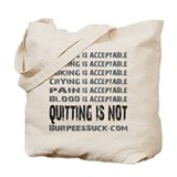 ACCEPTABLE - WHITE Tote Bag