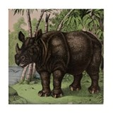 Rhino Tile Coaster