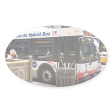 Hybrid bus in Chicago - Decal