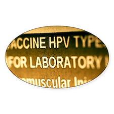 Human papillomavirus vaccine - Decal