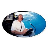 Gerard Depardieu in a submarine - Decal