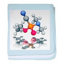 Tabun nerve agent molecule - Baby Blanket