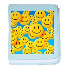 Smiley face symbols - Baby Blanket