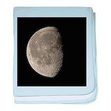 Waning gibbous Moon - Baby Blanket