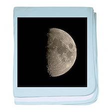 Waxing gibbous Moon - Baby Blanket