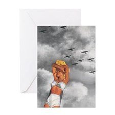War L'Amour Greeting Card