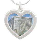 orf, Germany - Silver Heart Necklace