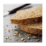 Granary bread - Tile Coaster