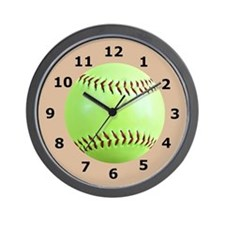 Softball Gift Wall Clock Wall Clock