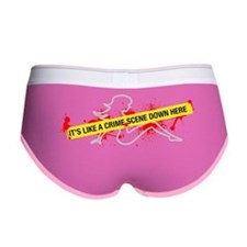 Crime Scene Women's Boy Brief