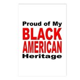 Proud Black American Heritage Postcards (Package o