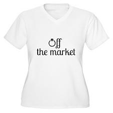 Off the Market Bride Plus Size T-Shirt