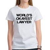 World's Okayest Lawyer Tee