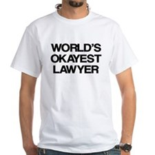 World's Okayest Lawyer Shirt