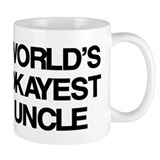 World's Okayest Uncle Coffee Mug