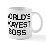 Boss Small Mugs (11 oz)