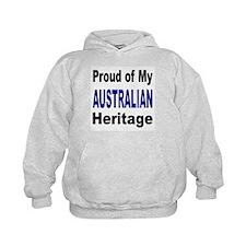 Proud Australian Heritage (Front) Hoodie