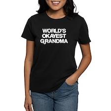 World's Okayest Grandma Tee