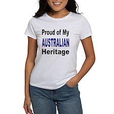 Proud Australian Heritage (Front) Tee