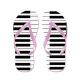 Piano Keys Flip Flops