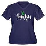 Lucky Plus Size T-Shirt