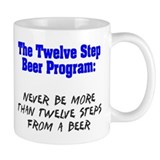Twelve Step Beer Program Coffee Mug