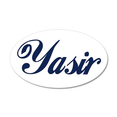 Yasir name Wall Sticker