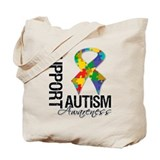 Support Autism Awareness Tote Bag
