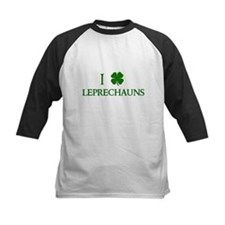 I Love Leprechauns Baseball Jersey