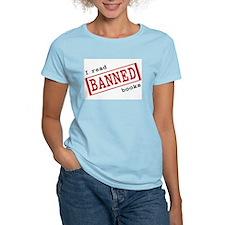 Banned Books Women's Pink T-Shirt