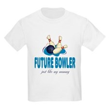 Future Bowler Like Mommy T-Shirt
