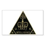 United Kingdom Intelligence Sticker